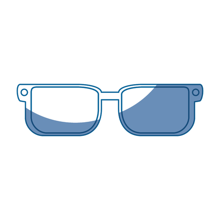 glasses pair object vector icon illustration graphic design Ilustração