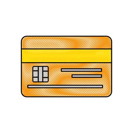 credit card bank vector icon illustration graphic design