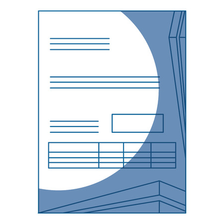 document contract official vector icon illustration graphic design Banco de Imagens - 79193095