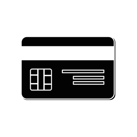 credit card bank vector icon illustration graphic design