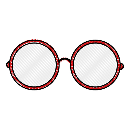 glasses pair object vector icon illustration graphic design Illustration