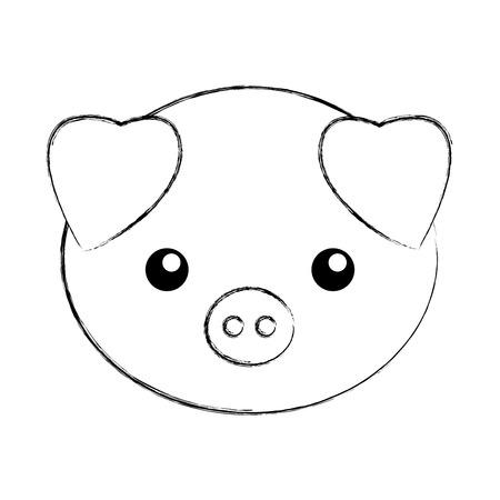 Lindo Puerco Animado Para Dibujar   www.imagenesmy.com