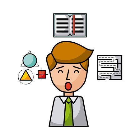 imagine people illustration vector icon design graphic Ilustrace
