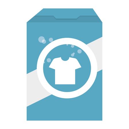 detergent powder product icon vector illustration design Иллюстрация