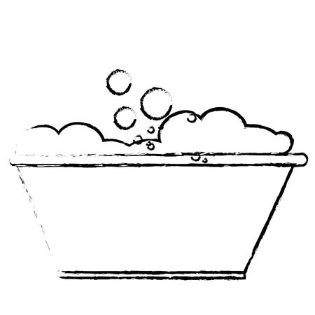 Tank for soaking in laundry vector illustration design Illustration