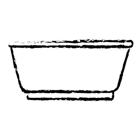 Tank voor het weken in de wasserij vectorillustratie ontwerp Stockfoto - 79308113