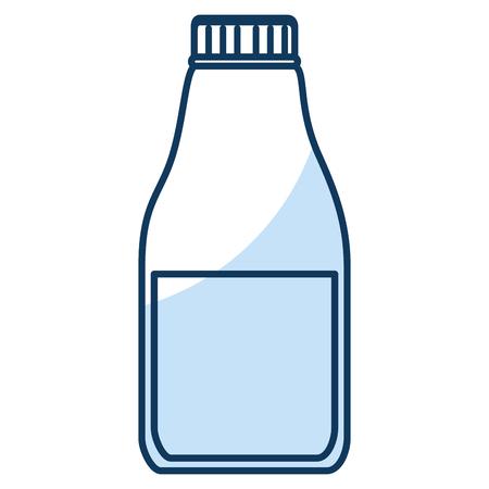 Laundry product in plastic bottle vector illustration design