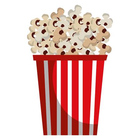 Pop corn cinéma alimentaire illustration vectorielle conception Banque d'images - 79308437