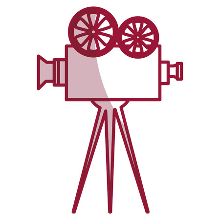 cinema film camera icon vector illustration design