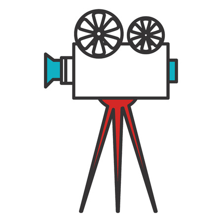 cinema film camera icon vector illustration design Stok Fotoğraf - 79309694