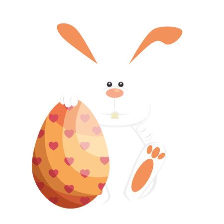 Egg easter day icon vector illustration graphic design Illustration