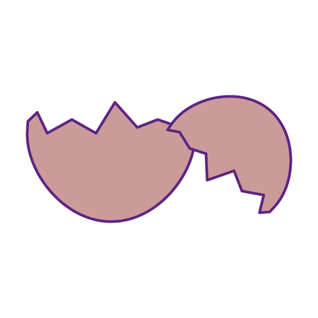 eggshells isolated symbol icon vector illustration graphic