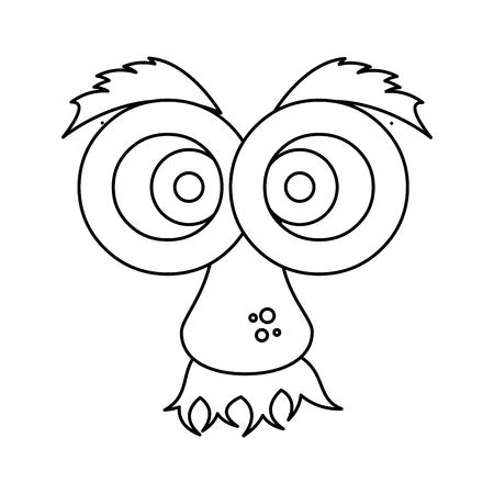 Visage de bande dessinée de gras visage 3d illustration vectorielle conception graphique Banque d'images - 79338295