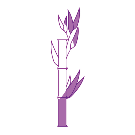japanese garden: Bamboo japanese plant icon vector illustration graphic design