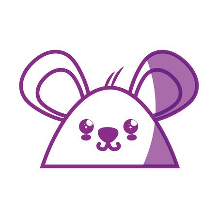 Hamster cartoon icon vector illustration graphic design Illustration