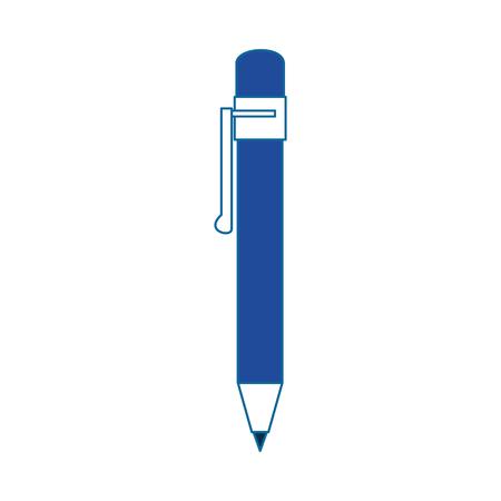 Office pen utensil icon vector illustration graphic design