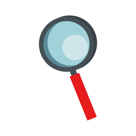 Magnifying glass lupe icon vector illustration graphic design Иллюстрация