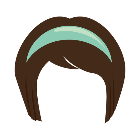 japanese hairstyle traditional icon vector illustration graphic design