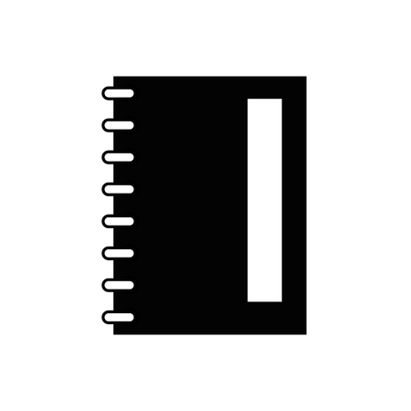 Note book isolated icon vector illustration graphic design