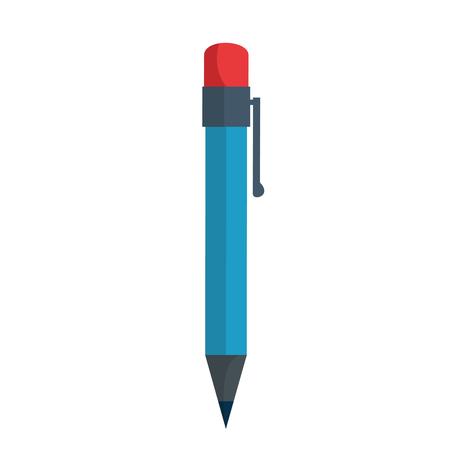 pen utensil icon over white background vector illustration Stok Fotoğraf - 79416133