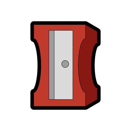 Schärfer-Symbol auf weißem Hintergrund Vektor-Illustration Standard-Bild - 79413129