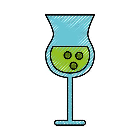 scribble alcohol cup cartoon vector graphic design Çizim