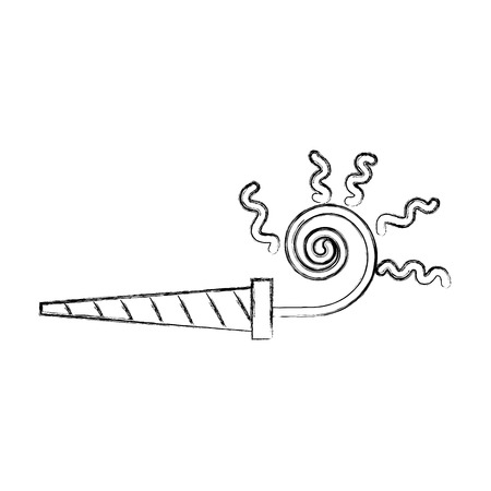 Cute sketch draw serpentine shot cartoon vector graphic design