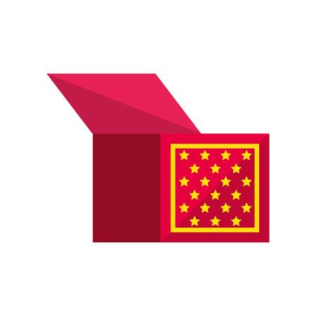 Icono de caja de joxe sobre fondo blanco. ilustración vectorial Foto de archivo - 79511668