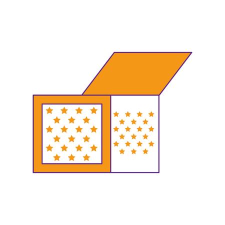 joke box icon over white background. vector illustration