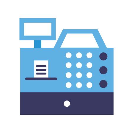 Enregistrer la machine icône isolé illustration vectorielle conception Banque d'images - 79588310