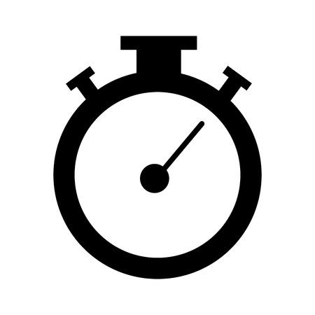クロノメーター タイマー分離アイコン ベクトル イラスト デザイン