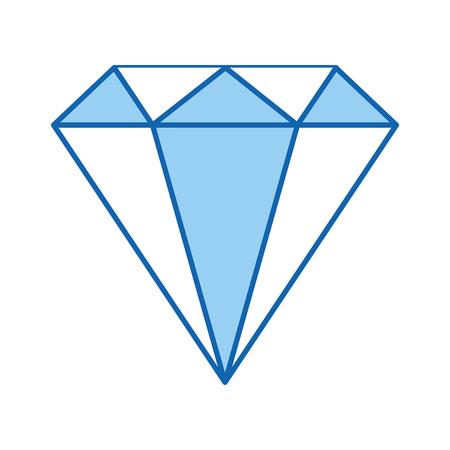 gemstone: diamond rich isolated icon vector illustration design