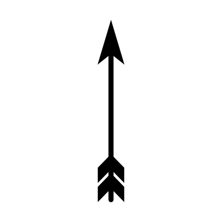 dart arrow isolated icon vector illustration design Çizim