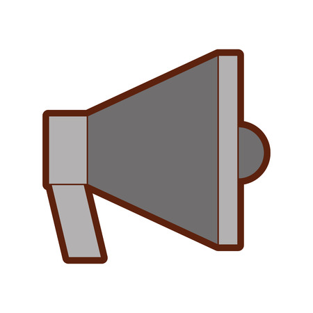 megaphone sound isolated icon vector illustration design Stock Vector - 79592910