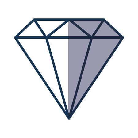 diamond stones: diamond rich isolated icon vector illustration design