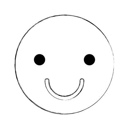 icon: happy face emogy icon vector illustration design