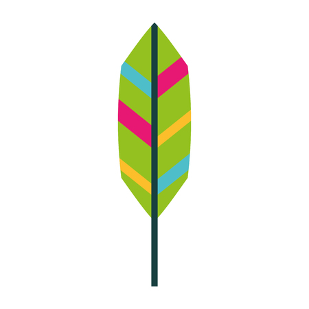 feather hippie style icon retro plume ilustration Ilustrace