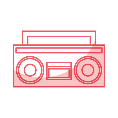 retro radio isolated icon vector illustration design Reklamní fotografie - 79613077