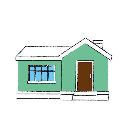 House architecture building icon vector illustration graphic design Фото со стока - 79751200
