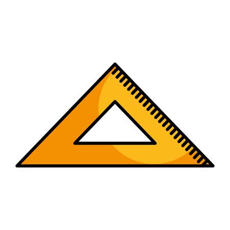 rule school isolated icon vector illustration design Stock Vector - 79751488