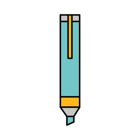 permanent marker isolated icon vector illustration design Çizim