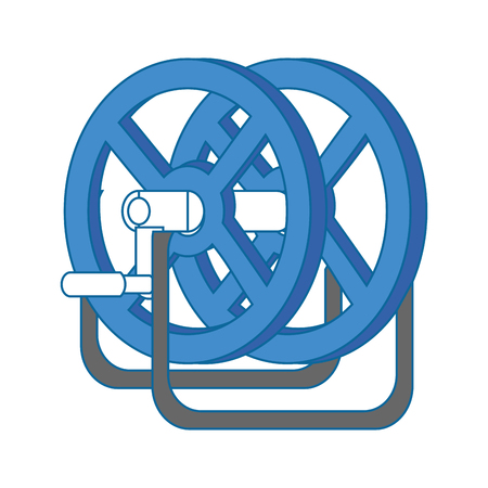 Reel winder tool icon vector illustration graphic design Illustration