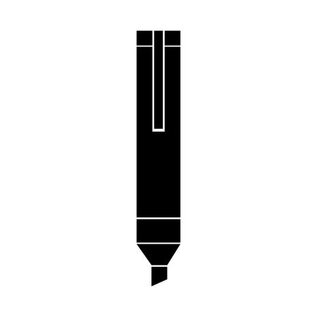 permanent marker isolated icon vector illustration design Illustration
