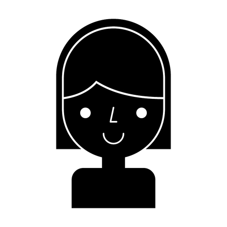 young woman avatar character vector illustration design Stock Vector - 79751667