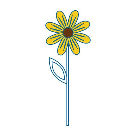 Beautiful flower gardening icon vector illustration graphic design Illustration