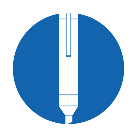 permanent marker isolated icon vector illustration design Ilustração