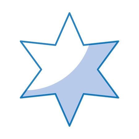 star silhouette weather icon vector illustration design