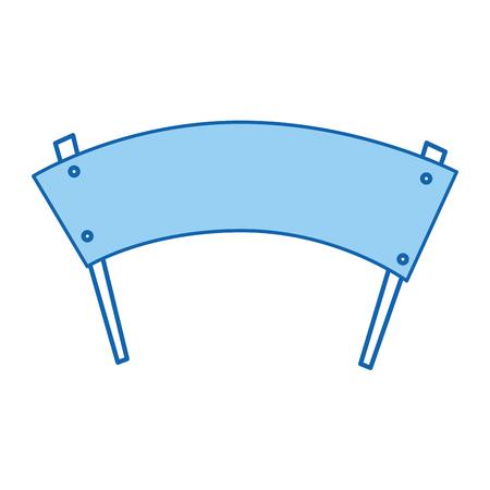 protest banner geïsoleerd pictogram vector illustratie ontwerp