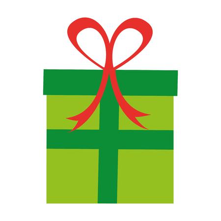 giftbox present isolated icon vector illustration design Stock Vector - 79758098