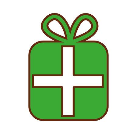 giftbox present isolated icon vector illustration design Stock Vector - 79759430